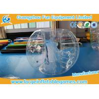 Buy cheap 1.8M TPU Inflatable Ball Suit Body Zorb Ball With 3 Years Warranty product