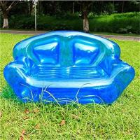 China Summer Home Garden Inflatable Kids Toys Double Perosn Sofa Bed / Outdoor Indoor Beach Chairs on sale