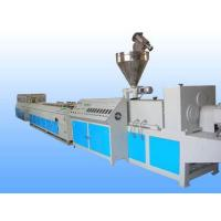 PP / PE WPC Making Machine , Decking Fence Profile WPC Extrusion Machine