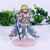 Buy Custom Acrylic Display Creative Standee Anime Photo Printed Advertising Table at wholesale prices