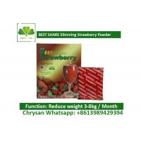 Buy cheap Strawberry Powder Weight Loss Fruit Juice BESTSHARE For Slimming SGS Approved product