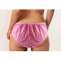 China SPA Used Disposable Beauty Products Non Woven Underwear Shorts For Woman on sale