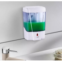 Quality Plastic Toilet Bathroom Wall Mounted Smart Soap Dispenser for sale