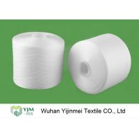 China 2/60S Plastic Cone Spun Type High Tenacity Bright Virgin Polyester Yarn High Twist For Sewing Thread on sale