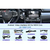 Buy HD 2016 Civic Honda Video Interface Touch screen Multimedia Android 6.0 at wholesale prices