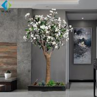 China Modern Design Artificial Flower Tree , Artificial Frangipani Tree 2m Height on sale