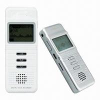 Quality Long Time Voice Recorder with 180 Hours Recording Time for sale