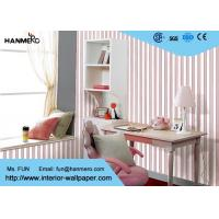 Buy cheap Removable Modern Home Decoration Wallpaper For Bedroom , Non - Woven Material product