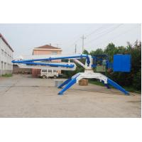 Quality Hydraulic Spider Concrete Placing Boom HG15 With Wheels 2.7m Stationary Height for sale