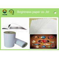 Buy cheap 80gsm - 250gsm Glossy Invitation Paper , Glossy White Paper Offset Printing from wholesalers