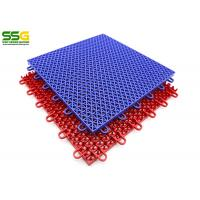 Quality Recyclable Basketball Interlocking Tiles Flooring For Outdoor Sports Court for sale