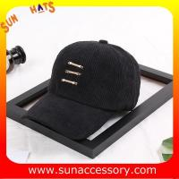 China QF17005  Sun Accessory customized fashion baseball caps for girls  ,caps in stock MOQ only 3 pcs on sale