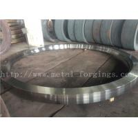 Quality Max OD 5000mm A350 LF3 LF6 Carbon Steel Forged Rings  Rough Machined Q+T Heat Treatment for sale