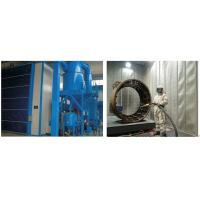Quality High Efficiency Grit Blasting Room , Industrial Sandblast Cabinet Electric Control for sale