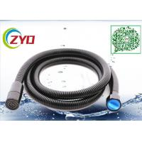 China Black Color Painting Toilet Bathroom Shower Hose With Wall Bracket And 1/2-3/4 Converted Screw on sale