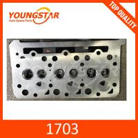 China Cylinder Head for Kubota D1703  3CYL 1A033-03043 on sale