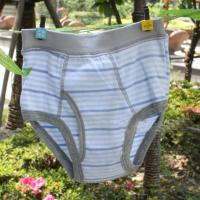 Buy Customized Comfortable Cotton / Polyester / Fabric Stripe Organic Kids Underwear For Boys at wholesale prices