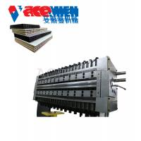 Quality Hollow Building Plastic Construction Formwork Machine 25*3*3.5m High Efficiency for sale