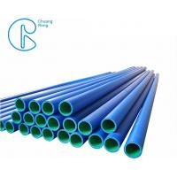 China PE100 High Density Polyethylene HDPE Pipe FLW Buried Pipeline Coils on sale