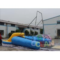 Cheap Commercial Inflatable Water Game Crazy Sport Rope Swing EM15649 Blue Yellow wholesale