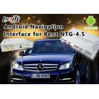 Quality Mercedes-Benz E Class NTG 4.5 GPS Navigation Android Auto Interface Box Support WiFi Bt Mirrorlink for sale