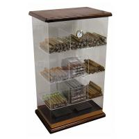 Quality 6mm Acrylic Countertop Display Case Humidor Acrylic Cigar Display Cabinet for sale