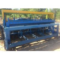 Buy cheap High Efficient Crimped Wire Mesh Machine 2.5 M Width For Wire Screen from wholesalers
