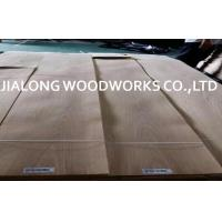 China Plain Cut/Crown Cut  Natural White Oak Veneer Sheet Light Color For Plywood on sale