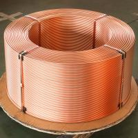 China Refrigeration 30' Length C1100 Pancake Coil Copper Tube on sale