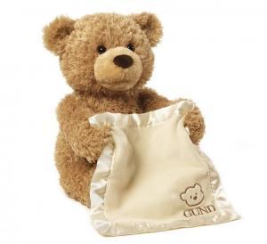 Quality Musical 25cm Peek a Boo Bear  Play Hide And Seek Cute Electronic Playing Fun for sale