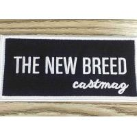 Buy Stick - On Custom Embroidered Patches And Badges Self Adhesive Label For Bag / Shoes at wholesale prices