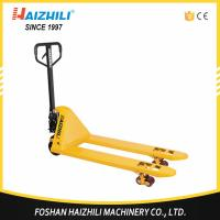 Quality Shork fork manual pallet jack 2500kg hydraulic hand pallet truck made in china for sale