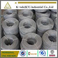 China ASTM standard galvanized aircraft cable for America on sale