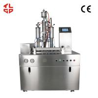 Quality Low Noise Semi Automatic Aerosol Filling Machines For Hair Spray / Styling Gel for sale