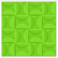 Quality Purple / Green Electrical Plastic Modern 3D Wall Panels Kitchen Decorative 3D Wallpapers for sale