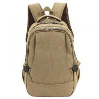 China Canvas Materials Primary School Bag Waterproof Backpack 29x19x42cm Size on sale