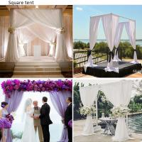 Quality Wedding backdrop adjustable pipe and drape for event cheap price wholesale aluminum pipe and drape stand stage backdrop for sale
