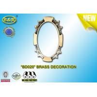 Buy cheap Ref.BD020 brass decoration metal tombstone frame material copper alloy size 8*10,11*15cm product
