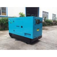 Quality Soundproof Silent Powered Isuzu Diesel Generator Four Stroke 50KVA for sale