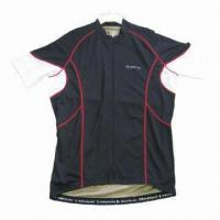 Quality Men's Cycling Wear, Highly Stretchable and Abrasion-resistant for sale