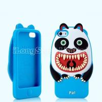 Quality Anger Panda 3D Silicone Case For iPhone 5 for sale