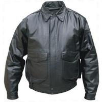 Quality leather men jacket for sale