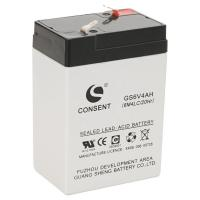 China 6v 4ah battery, 6 volt 4ah rechargeable lead acid battery on sale