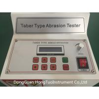 Buy Professional Supplier Taber Wear Abrasion Tester,Taber Rotary Abrasion Tester Reliable Quality at wholesale prices