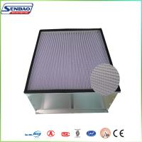 Quality Ceiling Ventilation System Fiberglass Air Filters for Medical Industry 100 Clean Room for sale
