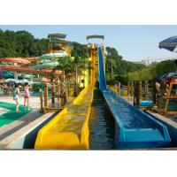 Quality Water Park Build High Speed Slide For Adult , 12 Months Warranty for sale