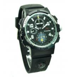 Buy cheap Wrist Watch Remote Monitoring Hidden Spy Camera , Light Hidden Spy Video Camera product