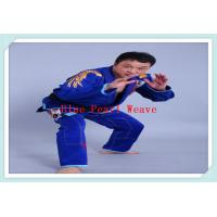 Quality 100% Cotton Blue jiu jitsu clothing Custom Martial Arts Uniforms for Adults for sale