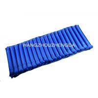 China Thick Material Inflatable Air Mattress Anti Decubitus With Two Chamber Blue Strip on sale