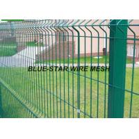 Quality Mild Steel Welded Wire Mesh Fencing Plastic - Soaked Coated Wire Fencing for sale
